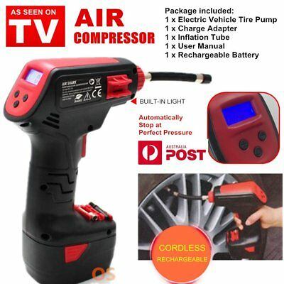 "Digital AIR PRESSURE Compressor Cordless Tyre Inflator""As Seen On TV Air Dragon"""