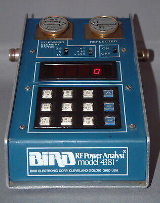 Bird 4381 RF Power Analyser