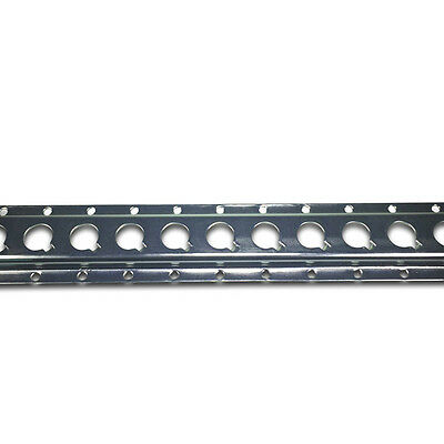 Zinc Plated 1806 Load Restraint Track / Cargo Rail - 3 metre length