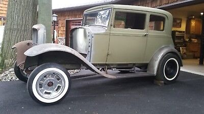 1931 Ford Model A  1931 model a ford vicky 1932 victoria coupe hot rod gasser 32 ford project car