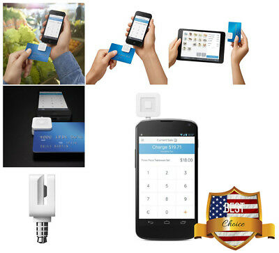 Square YOUR Mobile Credit Card Reader For iPhone iPad & Android Smart Phone NEW