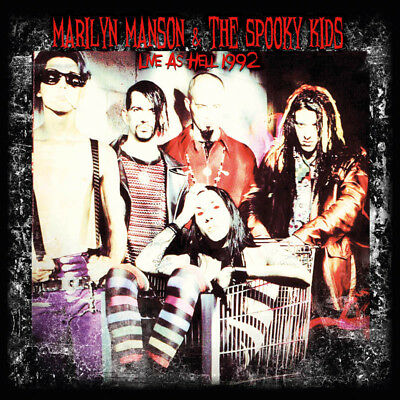 MARILYN MANSON/THE SPOOKY KIDS - Live Live As Hell 1992. New LP + Sealed. *NEW*