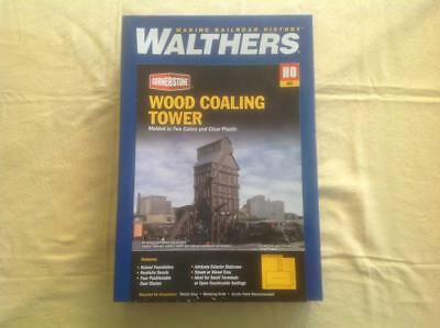 Walthers Cornerstone Ho Plastic Kit Coaling Station