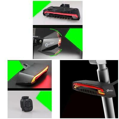 Meilan X5 Wireless Bike Light  Remote Control Laser Tail Lamp USB Rechargeable