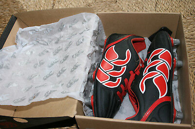 Rugby boots Junior Cantebury Stampede Club 6 stud UK 2 excellent condition