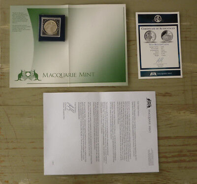Macquarie Mint Commemorative Proof Sterling Silver Coin, Spain Bellver Castle