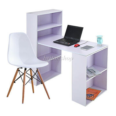 Office Desk Computer PC Writing Table Chair Home WorkStation Wooden Furniture UK
