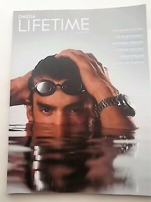 omega lifetime the water edition speedmaster michael phelps nasa arthus-bertrand