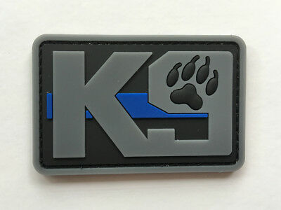 K-9 Usa Army Tactical Military Morale Badge  Hook Pvc  Patch  Sh   1095