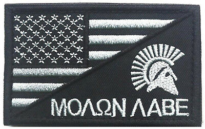 Warrior TACTICAL USA FLAG  MILITARY 3.0 INCH Embroidery HOOK PATCH   AA 1081