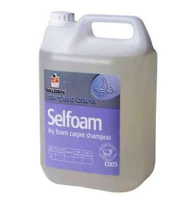 Dry Foam Carpet Shampoo Selfoam C005 Cleaning Carpets Ideal For Kirby's