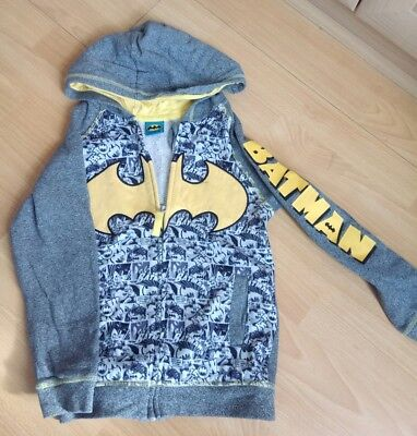 Boys batman hoodie aged 7-8 years