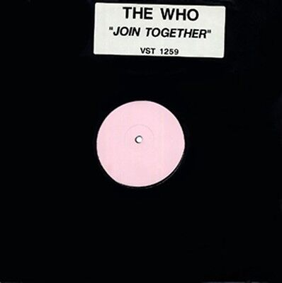 The Who, Join Together, NEW RARE UK white label promo 12 inch vinyl single