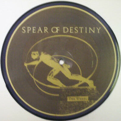 Spear Of Destiny, The Wheel, NEW/MINT UK PICTURE DISC 7 inch vinyl single