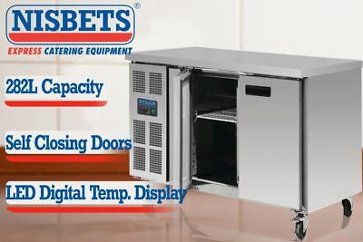 Polar Counter Freezer 282 Ltr Stainless Steel Commercial Refrigeration