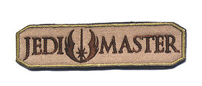 Jedi Master Patch Isaf  Army Morale Tactical Morale Badge Patch  Sjk   616