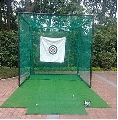 Golf Cage Net/Cricket Net 3m X 3m X 3m Steel Framed . Superior Quality & Value!#
