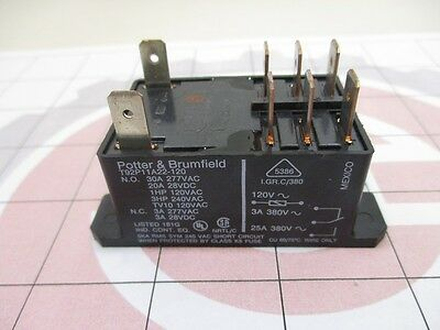 TE Connectivity T92P11A22-120  T92 Relay