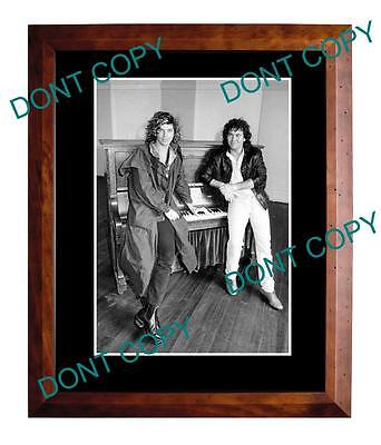 Aussie Rock, Jimmy Barnes & Michael Hutchence Inxs Cold Chisel Large A3 Photo