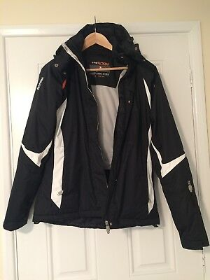 Ladies Snow Backswing with Recco Rescue Reflector Ski Jacket Size 12