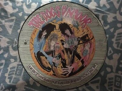 """Dogs D'Amour """"How Come It Never Rains"""" 12"""" Picture Disc"""