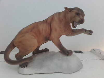 Beswick Puma on a Rock
