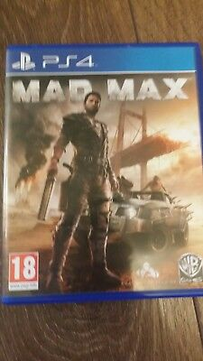 Mad Max Ps4 .excellent Condition
