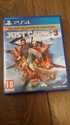 Just Cause 3 Ps4 .excellent Condition