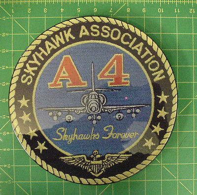 A-4 Association Recognition Award Wall Plaque,  MINT CONDITION-GREAT COLOR