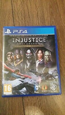 Injustice God's Among Us Ps4 .excellent Condition