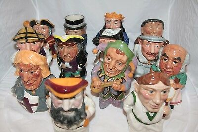 Various Bairstow Manor Character Jugs - Individually Priced With FREE UK POSTAGE