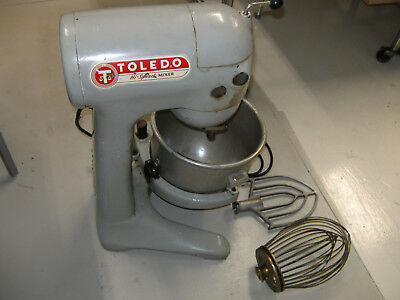 Toledo Hi Speed 20 Qt Commercial Mixer Model TM-20 With Bowl Paddle Whip