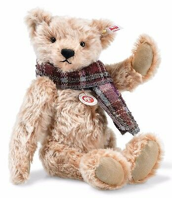 Steiff Willy Teddy Bear Cinnamon Tipped Mohair Jointed Limited Ed 33cm 006623