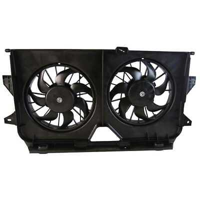 New Dual Radiator Condenser Cooling Fan fits Chrysler Town&Country Dodge Caravan