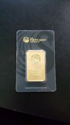 perth mint gold bullion 1 troy ounce