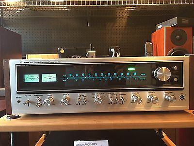 Pioneer SX-737 Stereo Receiver - Completely Restored w/ LED upgrade