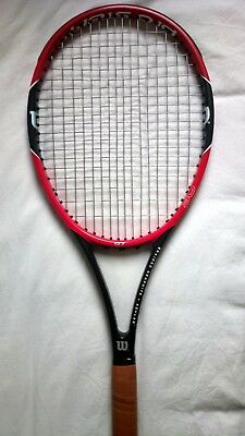 Raquette WILSON PRO STAFF 97 PS97 Grip 3 US 4 3/8 Tennis Racket Strung