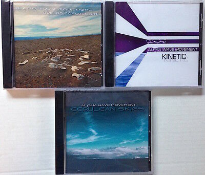 Alpha Wave Movement 3xCds Cerulean Skies + Kinetic + Eolian Reflections Ambient