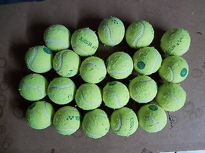 40 Used Tennis Balls-Low Pressure-Childrens Ball Games / Dog Toy-Machine Washed.