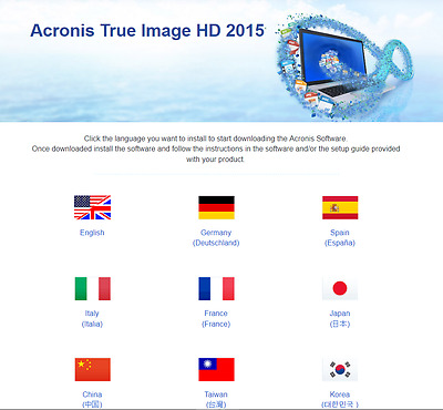 Acronis True Image HD 2015 clé d'activation OEM Activation Key From Crucial SSD