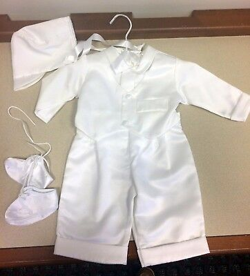 Boys Christening Outfit - 3-6 Months