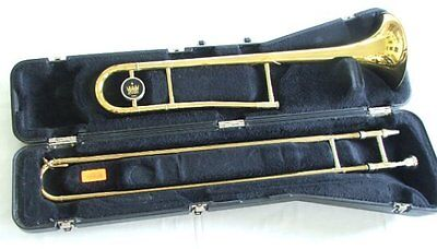 Vintage KING 600 Slide Trombone w/Case & Mouthpiece  GOOD Playing Cond.