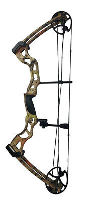 ASD Pro Series Camo Adult Archery Compound Bow High Powered Fully Adj 70Lbs