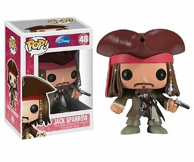 Disney Pirates of the Caribbean Captain Jack Sparrow Funko Pop! Vinyl Figure #48