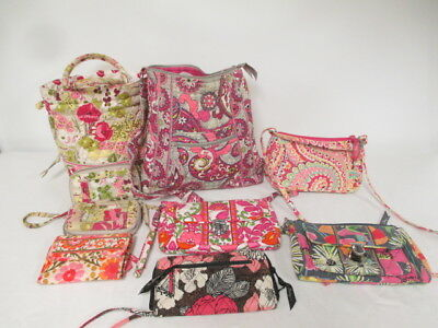 Vera Bradley Handbags Wallets & Clutch Purses Mixed Lot of 9