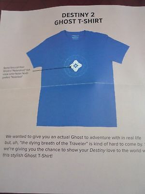 Destiny 'Ghost' T-shirt (2XL) - September 2017 LootGaming crate