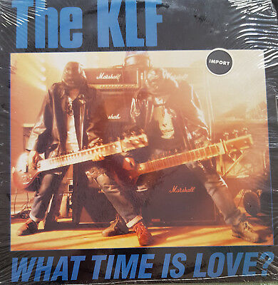 """The KLF – What Time Is Love? 12"""" Vinyl"""