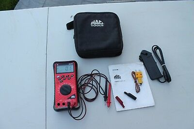 Mac Tools Em710 Automotive Digital Multimeter W/case