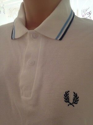 vintage fred perry polo shirt size 3