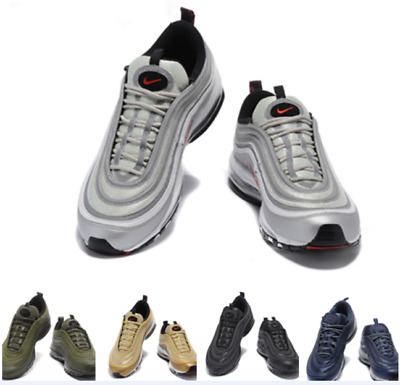 Men 'S Air Max 97 Og Rare Edition Bullet 3M Trainers Gym Shoes All Sizes + Box